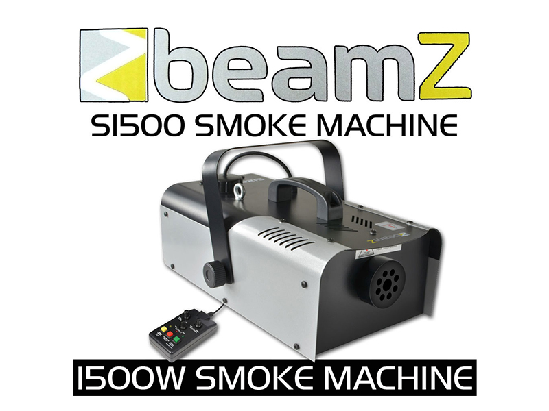 Smoke Machine - 1500 Watts - DMX with Timer control